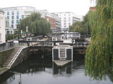 Camden Town, Hampstead Road Lock No. 1, London © Oast House Archive